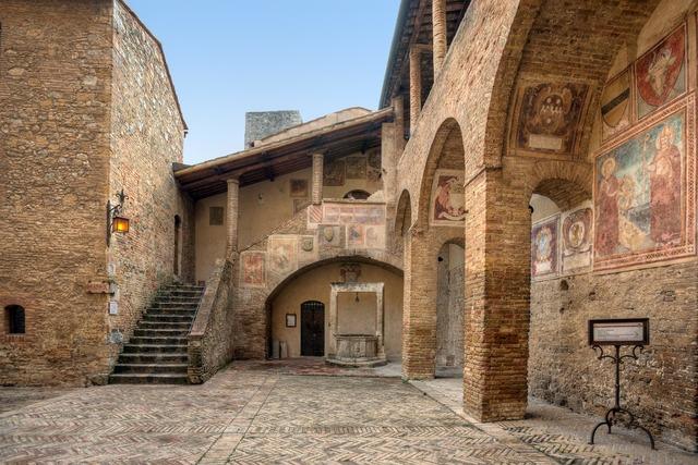 San gimignano world heritage toscana, architecture buildings.