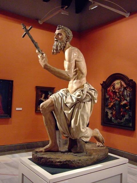 San jerónimo penitent museum.