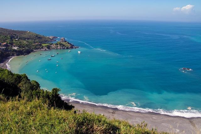 San nicola arcella sea calabria, travel vacation.