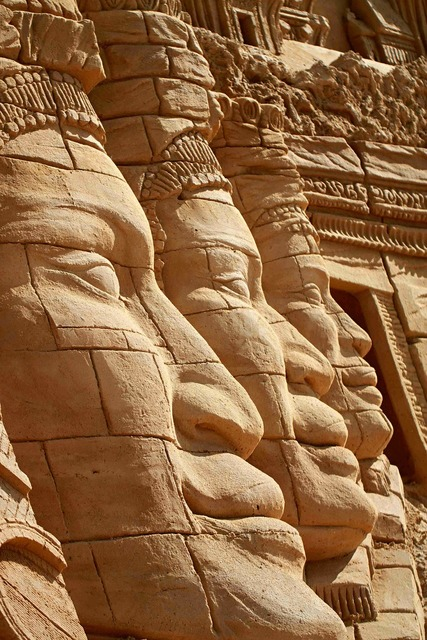 Sand sand sculpture sandworld.