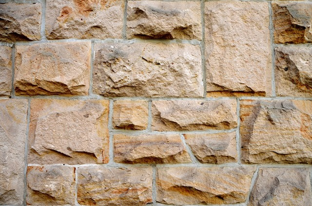 Sand stone wall structure, backgrounds textures.