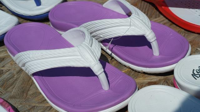 Sandals flip flops shoes.