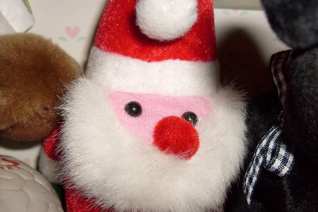 Santa toy doll.