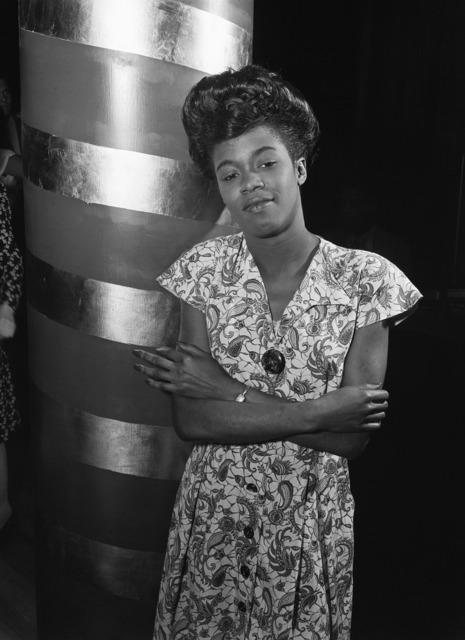 Sarah vaughan portrait jazz singer, backgrounds textures.