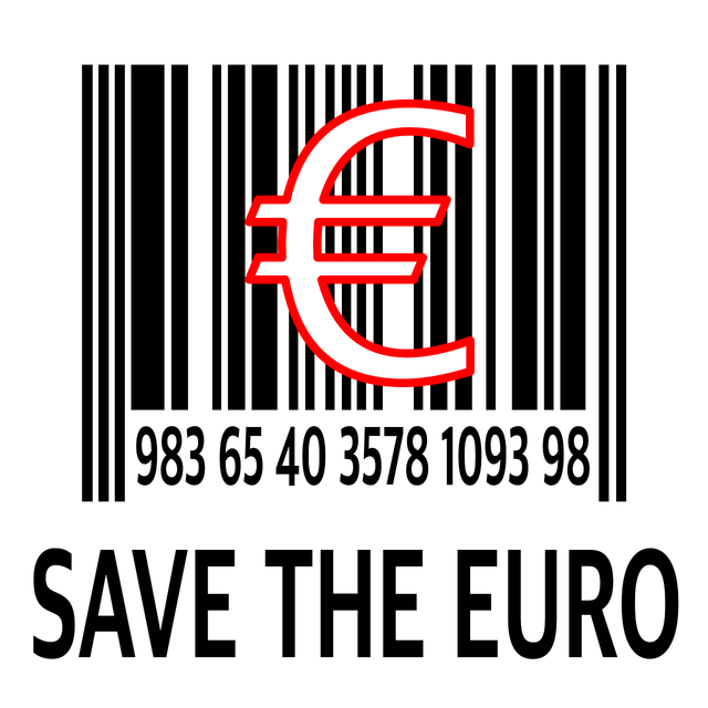 Save euro europe, business finance.
