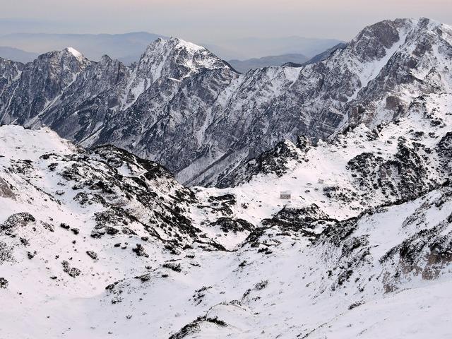 Scalorbi mountains refuge, nature landscapes.