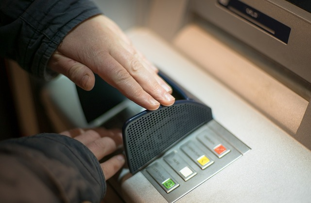 Scam atm security, business finance.