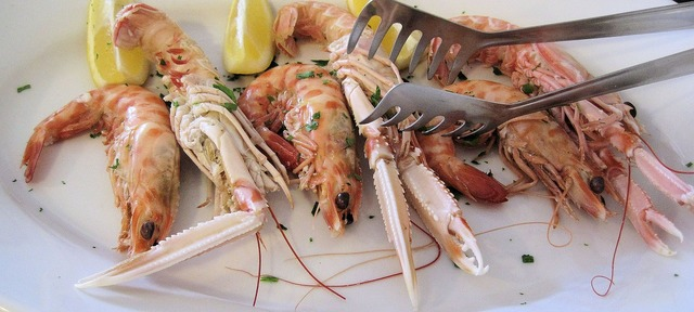 Scampi seafood north.