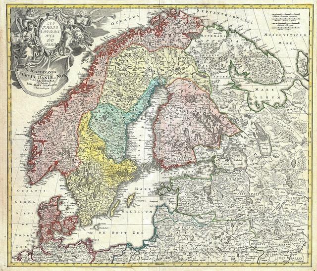 Scandinavia norway sweden.