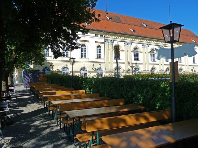 Schloss dachau summer residence wittelsbacher, architecture buildings.