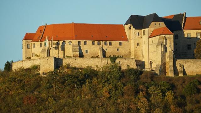 Schloß neuenburg castle saxony-anhalt.