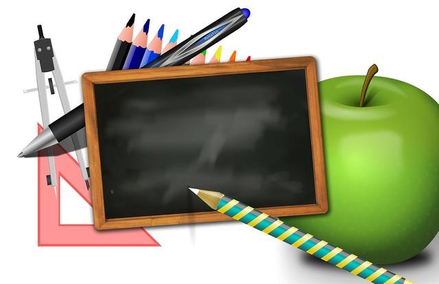 School board apple, education.