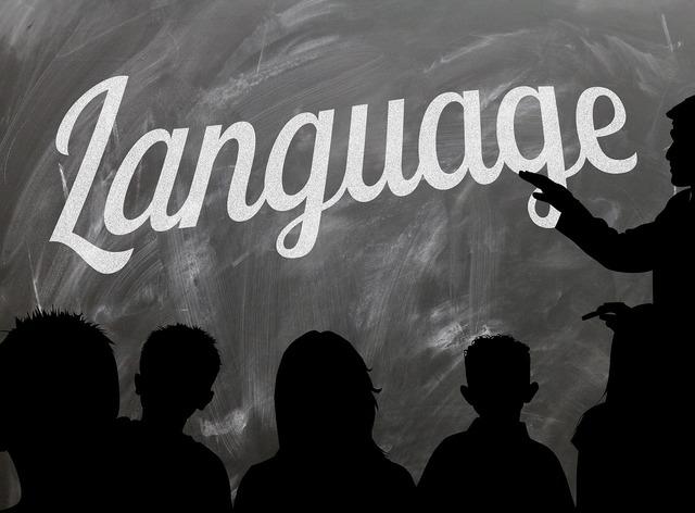 School board languages, education.