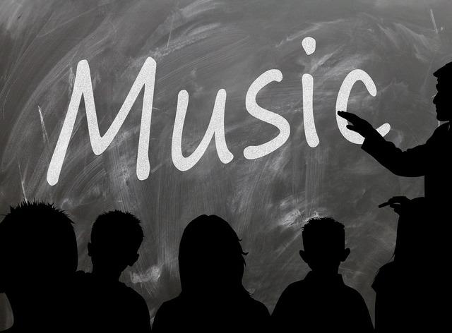School board music, education.