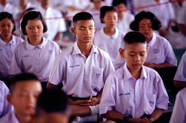 School boys girls, education.