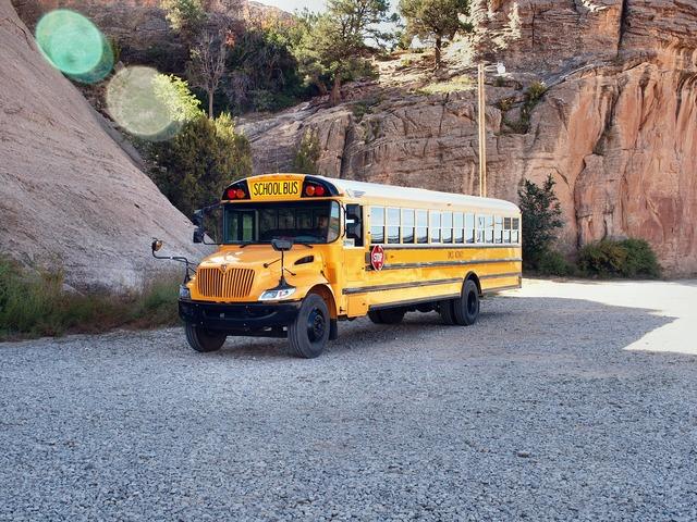 School bus usa america.