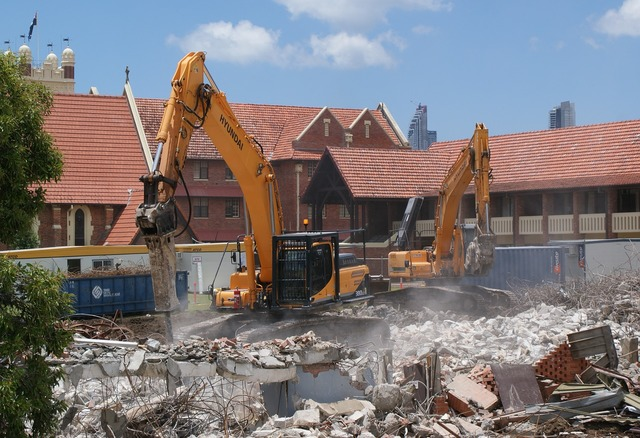 School demolition southport, education.