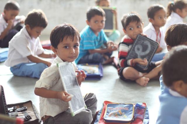 School india children, education.