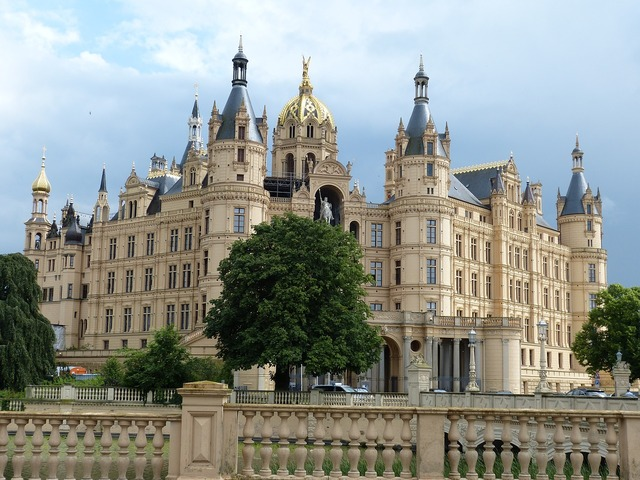 Schwerin mecklenburg western pomerania seat of government, architecture buildings.