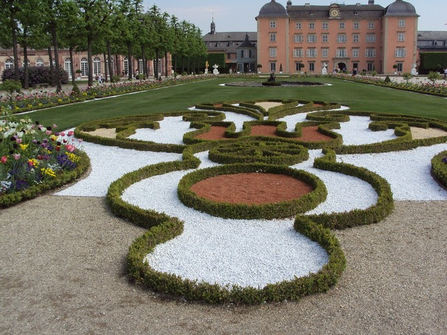 Schwetzingen castle garden.
