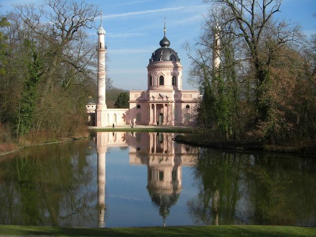 Schwetzingen schlossgarten park.