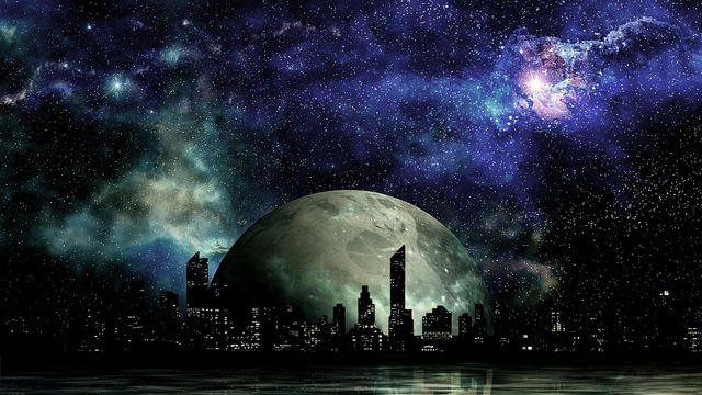 Science fiction sci fi space.