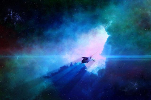 Science fiction spaceship alien.