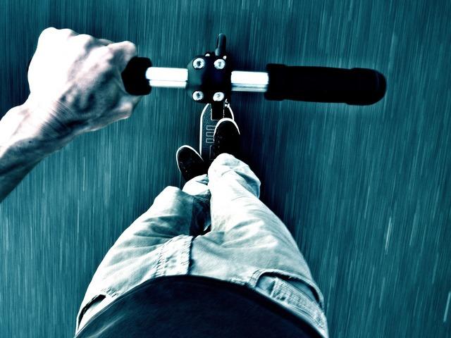 Scooter sport fun, sports.