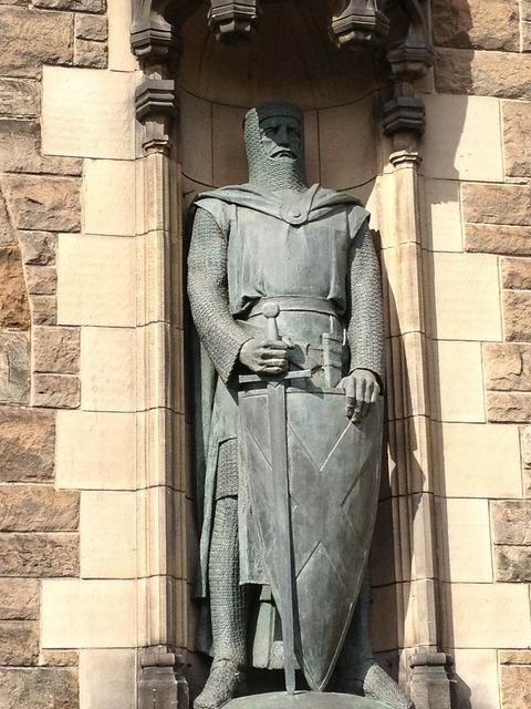 Scotland castle knight.