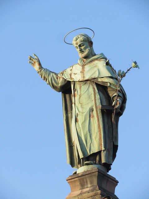 Sculpture italy statue, religion.
