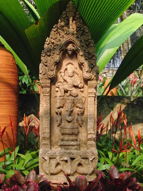 Sculpture thailand buddhism, religion.