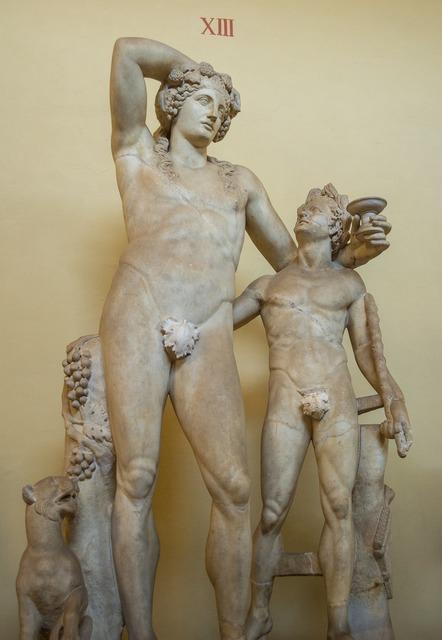 Sculpture the vatican museum.