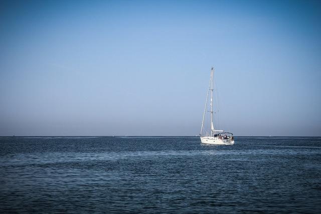 Sea boat ocean, travel vacation.