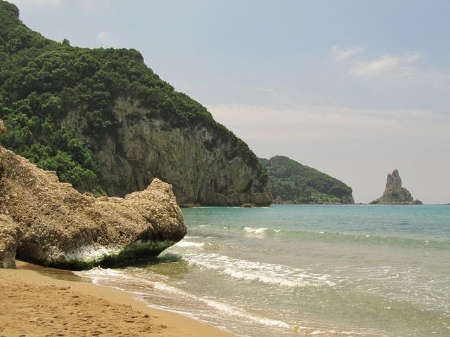 Sea booked corfu, travel vacation.