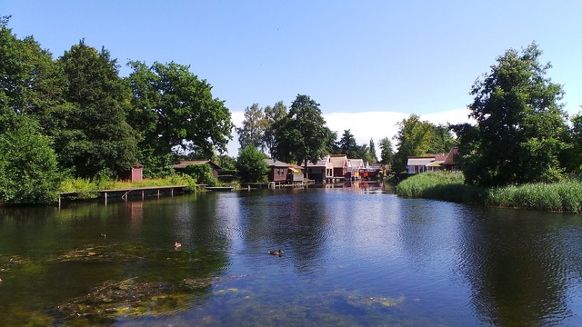 Sea cabins mecklenburg summer.