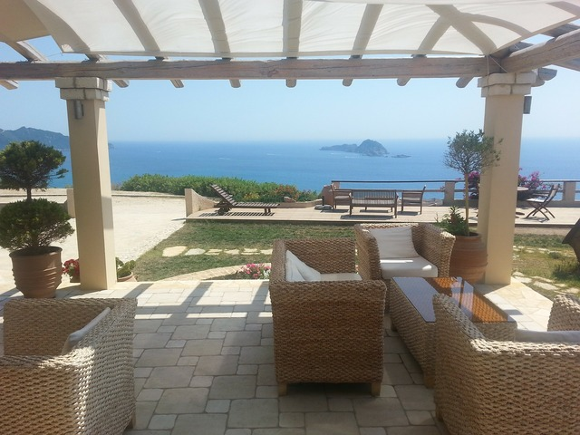 Sea lounge mediterranean.