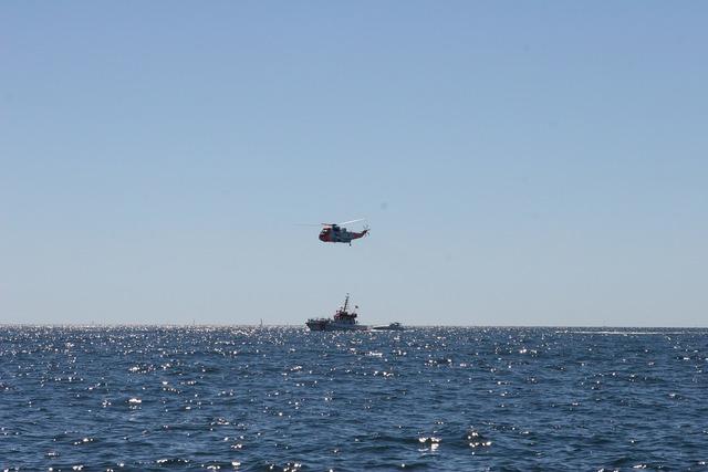 Sea rescue boat.