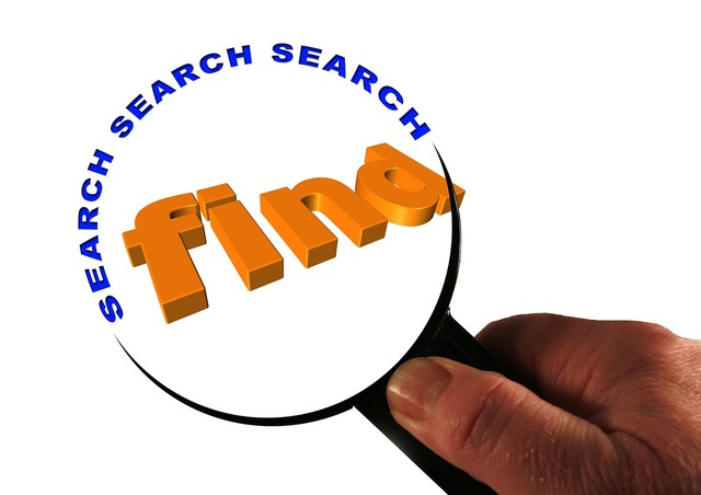 Search to find magnifying glass.