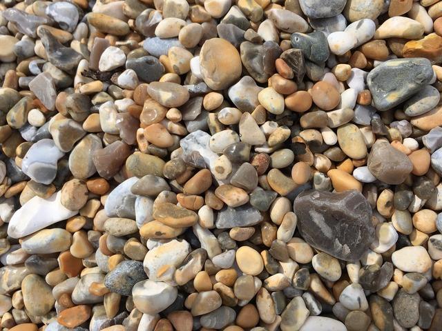 Seaside beach stones, travel vacation.