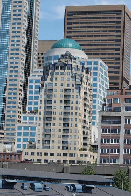Seattle skyline building, architecture buildings.