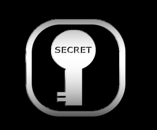 Secret keyhole open.