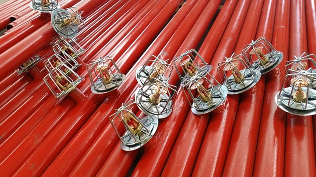 Security industry against fire risk, industry craft.