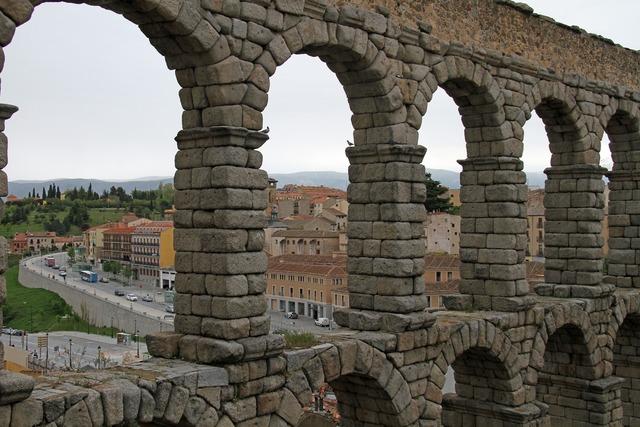 Segovia spain ancient, places monuments.
