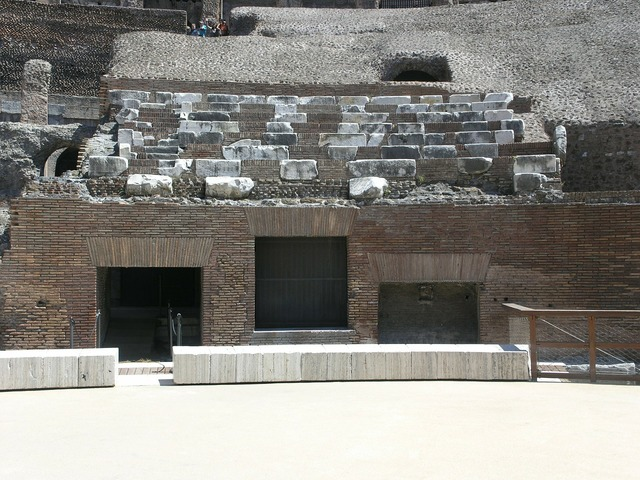 Senate seating colosseum italy, architecture buildings.