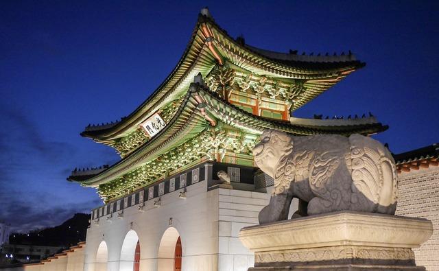 Seoul korea asia, travel vacation.