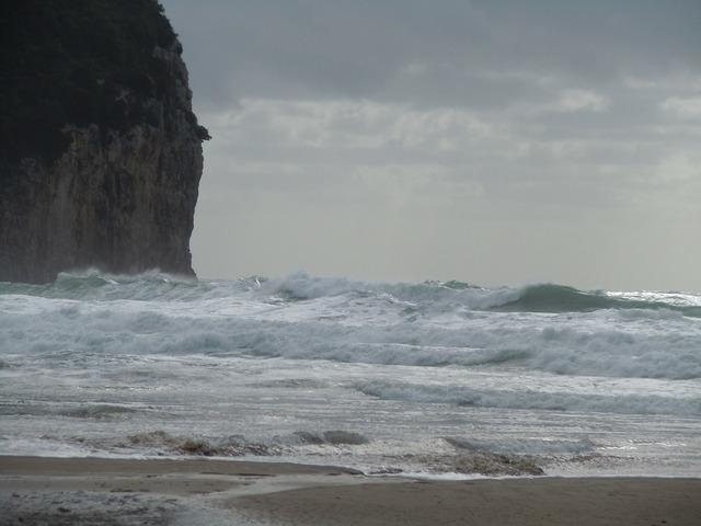 Serapo november beach, travel vacation.