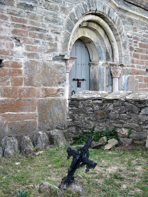 Serrabone priory monastery.