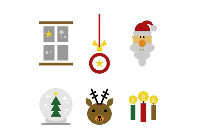 Set christmas figure, animals.