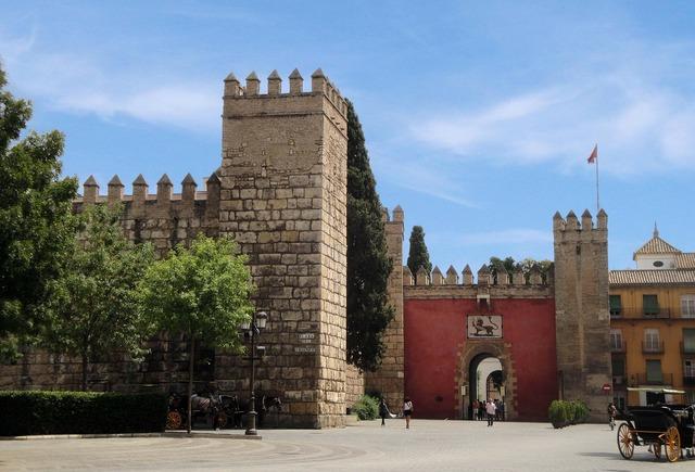 Sevilla castle spain.