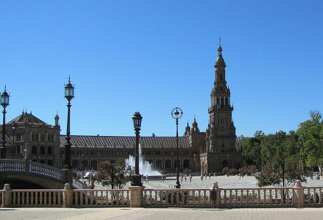 Sevilla children's spanish church, religion.